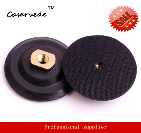 "Здесь продается  4"" inch100mm with arbor 5/8""-11  flexible Rubber backer holder pad for Angle grinder  Инструменты"