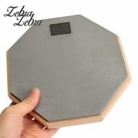 8 Inch Silent Drum Practice Pads Rubber Wooden Drumming Practise Dumpad For Beginner Drummers