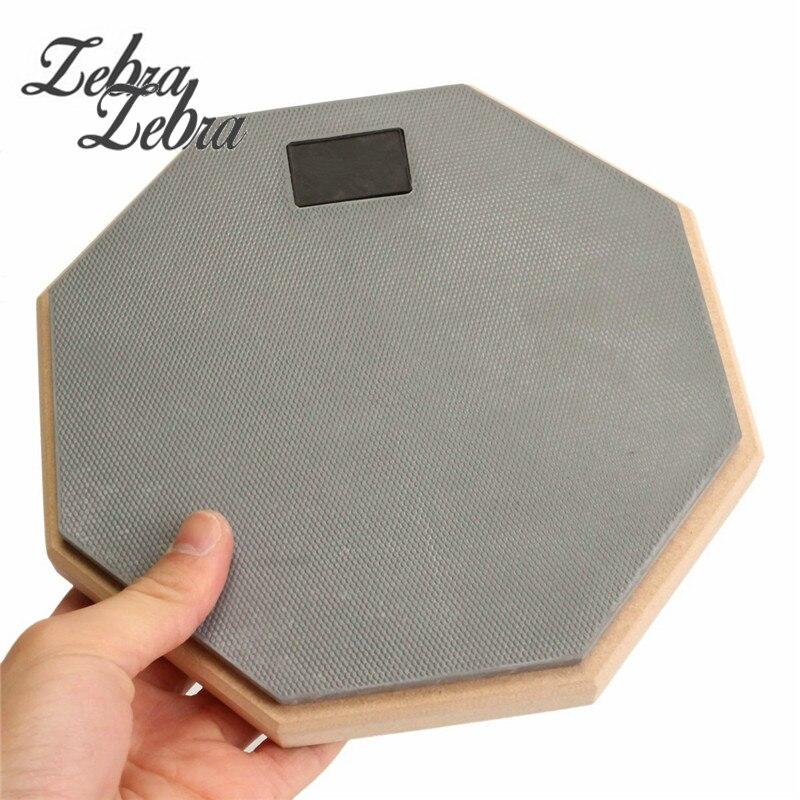 8 inch Rubber Wooden dumb drum Silent Practice Drumpad For Beginner Drumming Quiet Training Drum pad