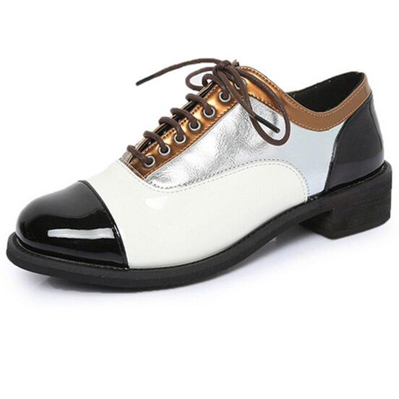 Belle De Mode 2 Pu Dentelle Cuir 3 Tête 1 Sort Ronde Haut Couleur Manières En Printemps Femmes Gamme Chaussures Antiques AEqrpwA