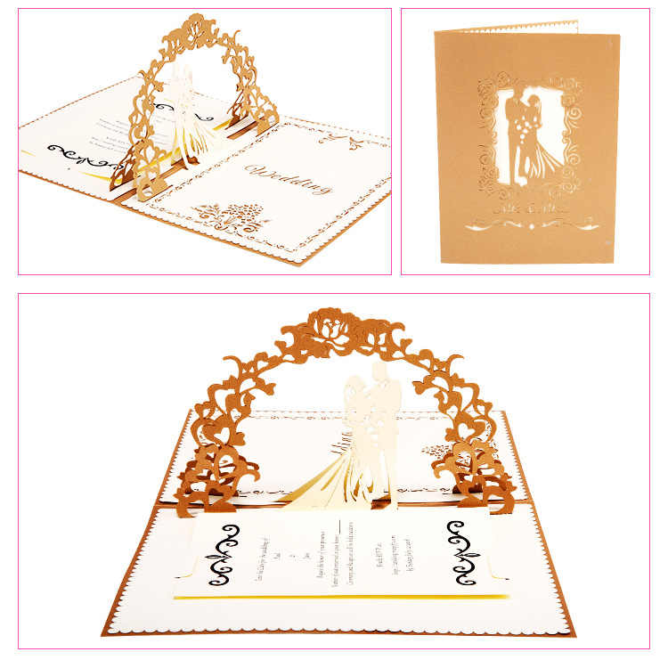 Wedding Card Wishes.Detail Feedback Questions About Sweety Wedding Invitation 3d