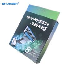 Ru&eu&us sharkeen shaving razor blades blade standard men for