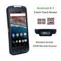 Android 8 1 PDA сборщик мобильных данных терминал NXP NFC 13 56 м ручной Honeywell/Zebra 1D лазерный 2D QR планшетный ПК сканер штрих-кода