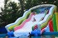 Directo de fábrica castillo inflable de diapositivas tobogán de La Piscina, gran parque acuático piscina Gran piscina Ocean World ship KY-722