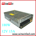 180W 15A Switching Power Supply for LED Strip light,220V AC input 12V output