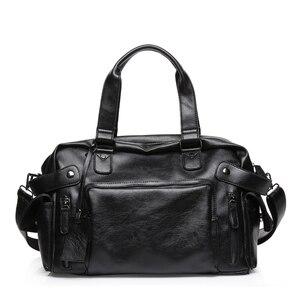 Image 2 - DCOS High Quality Men Travel Bag leisure Male Handbag Vintage Shoulder Bag Men Messenger Duffel Tote Bag