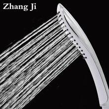 Бесплатная Доставка Handheld глава душ Изогнутый дизайн элегантный abs душ сопла Новый тип хром осадков глава 25 см душ ZJ065