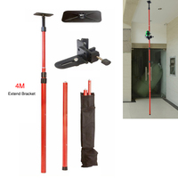 Firecore Extend Tripod for Laser Level 1/4and 5/8 Interface Laser Bracket Elongation Maximum 4M Tripod