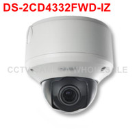 Darmowa wysyłka DS-2CD4332FWD-IZ 3MP WDR Ip Na Zewnątrz Aparatu bezpieczeństwa obsługa kart SD nagrywania