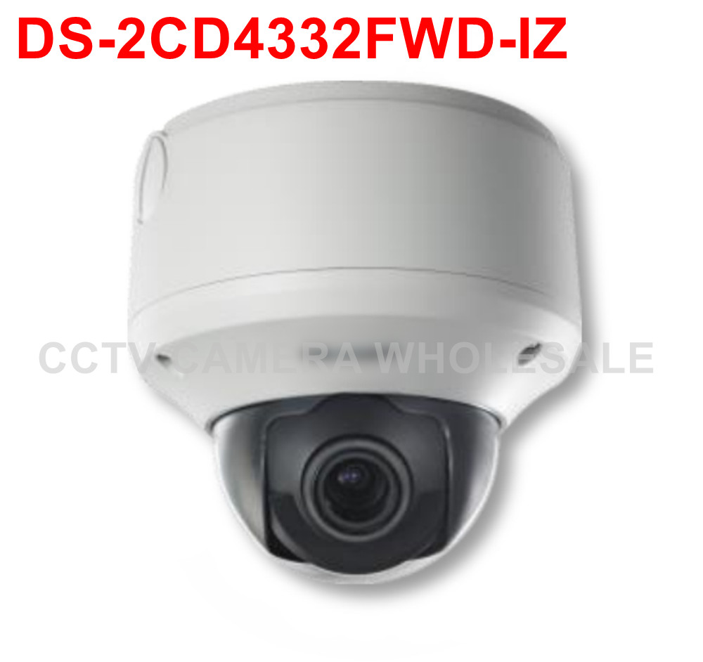 Free shipping DS-2CD4332FWD-IZ 3MP WDR Outdoor Dome IP security Camera support SD card recording cd диск fleetwood mac rumours 2 cd