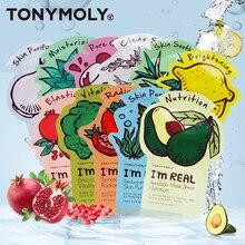 Оригинальные маски TONY MOLY 10 шт. Im Real Mask 10 видов