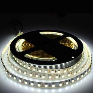 5m única cor conduziu a luz de tira smd 3528 dc 12v 120leds/m flexble diodo fita luz decoração para sala estar casa tv backlight