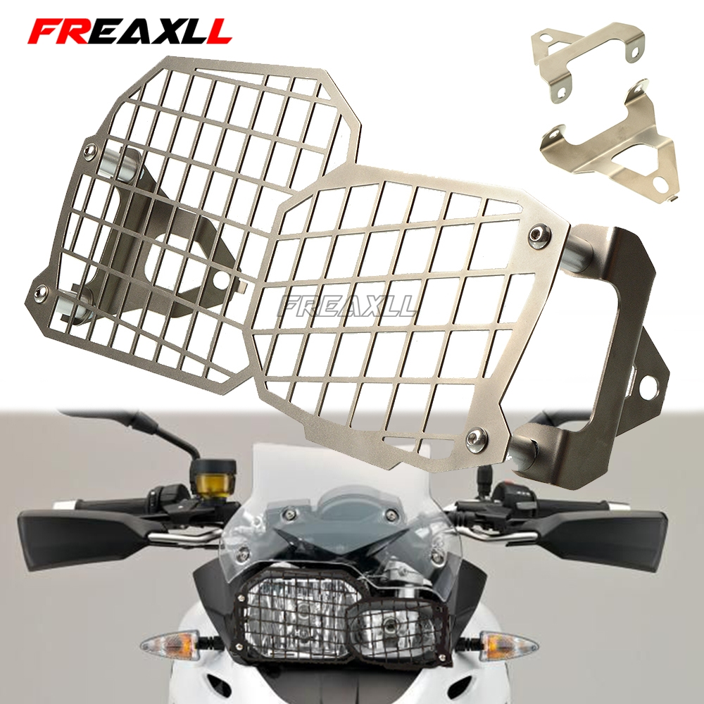 For BMW F800GS F700GS F650GS F800 GS F 700GS F 650 GS Motorcycle Accessories Stainless Steel Headlight Protector Cover Grill