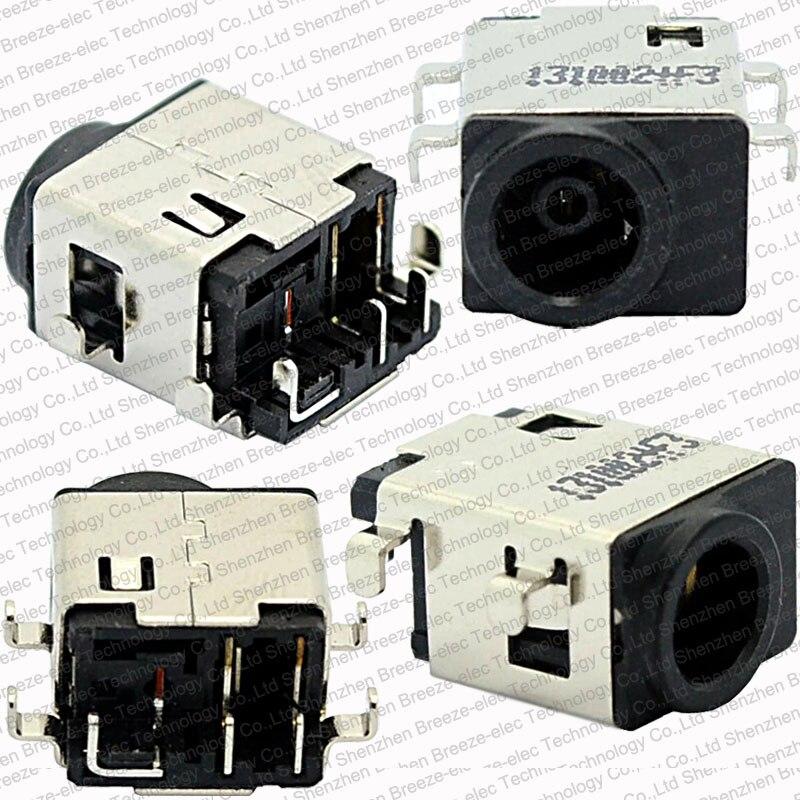 1~100pcs/lot Original DC POWER JACK Connector For SAMSUNG NP300 NP305V4A NP300E4C NP300E4A NP300V3A NP305E5A NP300E5A NP300E4V