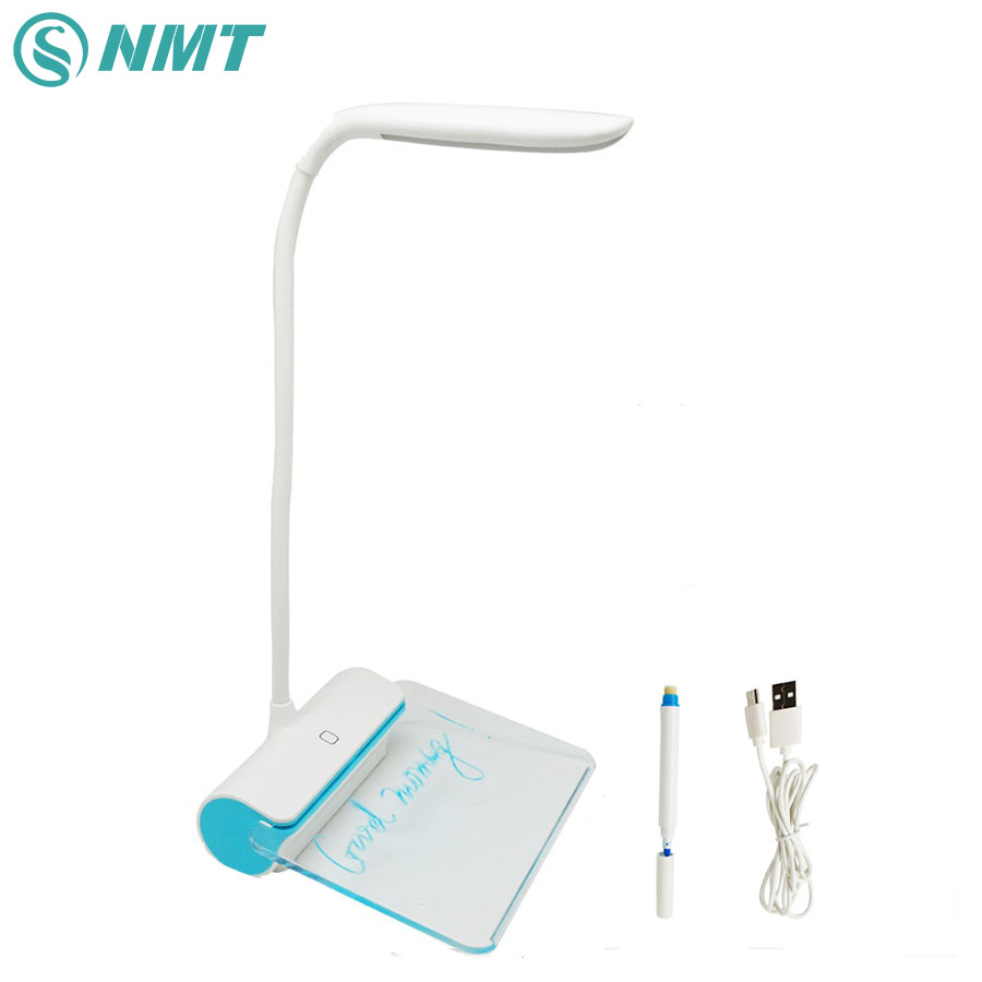 DC5V Led Desk Lamp Portable Touch Dimmable Table Lamp USB Rechargeable Table Light with Message Board for Kids Book Reading portable dc5v mini usb led ceiling lamp for desk reading lamp camping book with switch on off emergency night light toys gifts
