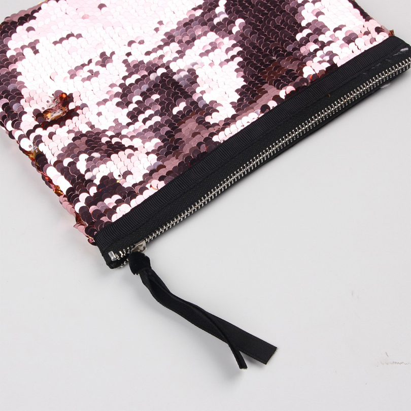 Onesaid Women Versatile Travel Cosmetic Bag Double Sided