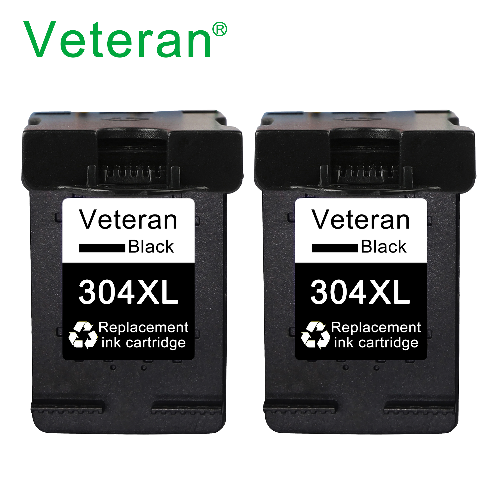 Veteran refilled ink cartridge 304XL for hp304 hp 304 xl new chip for hp envy 5032 5030 5020 5010 3720 3721 3730 3758 printers