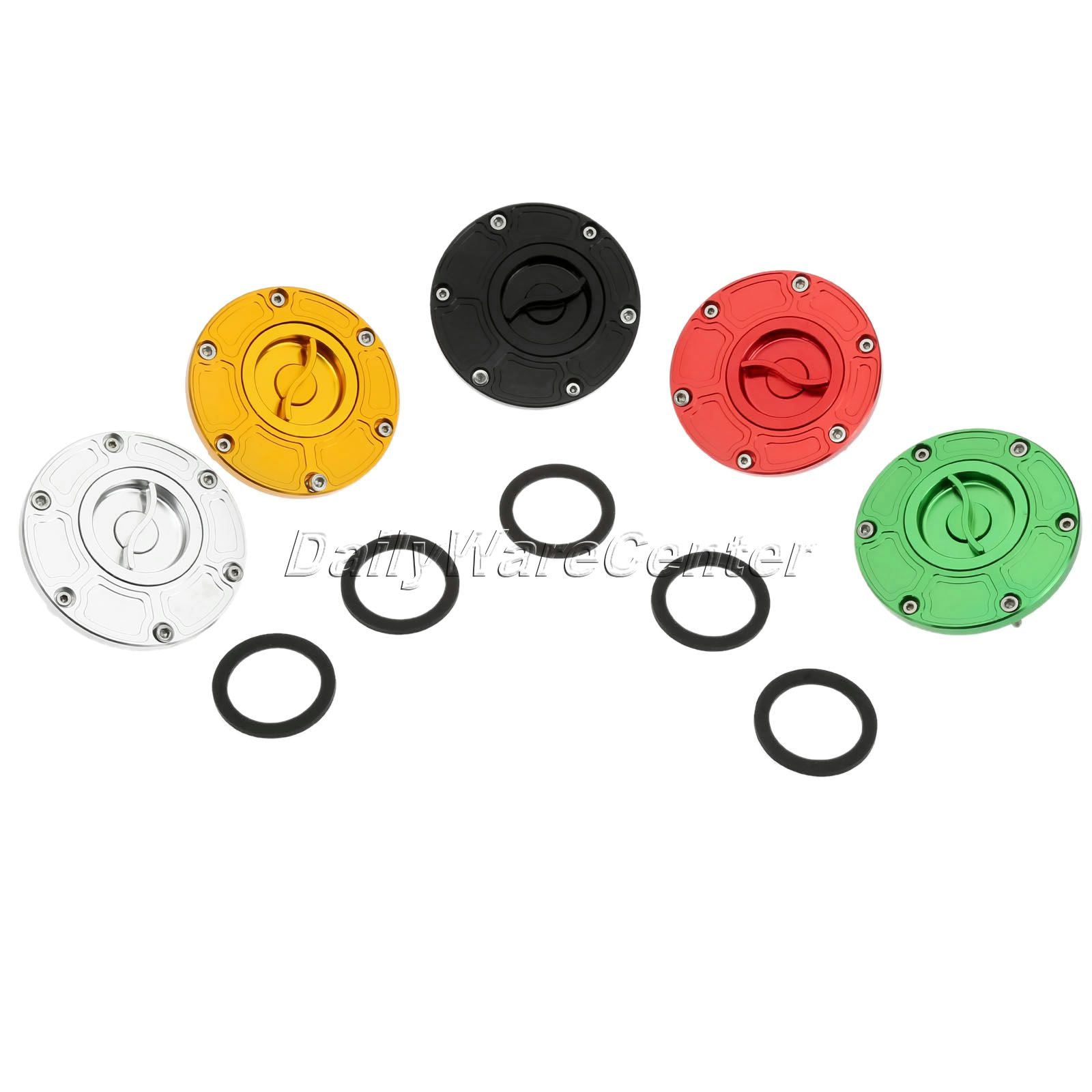 CNC Motorcycle Keyless Brake Flued Gas Tank Cap Oil Tank Cover for Aprilia KTM Duke Triumph Rocket III Motorbike Pitbike Parts