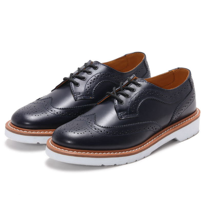flat leather shoes