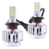 H7 Auto Car Excellent Quality Car LED Lamp Headlights 72w 6600LM Headlamps Led12v Lamp Headlights For