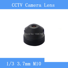 Infrared surveillance camera pinhole lens 3.7mm M10 thread CCTV lenses