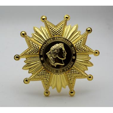 EMD French Legion Of Honor Breast Star In Gold1