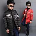 The New 2016 Han Edition Child Cotton-padded Jacket Boy Winter Children Stripes Child Cotton Baby Clothes