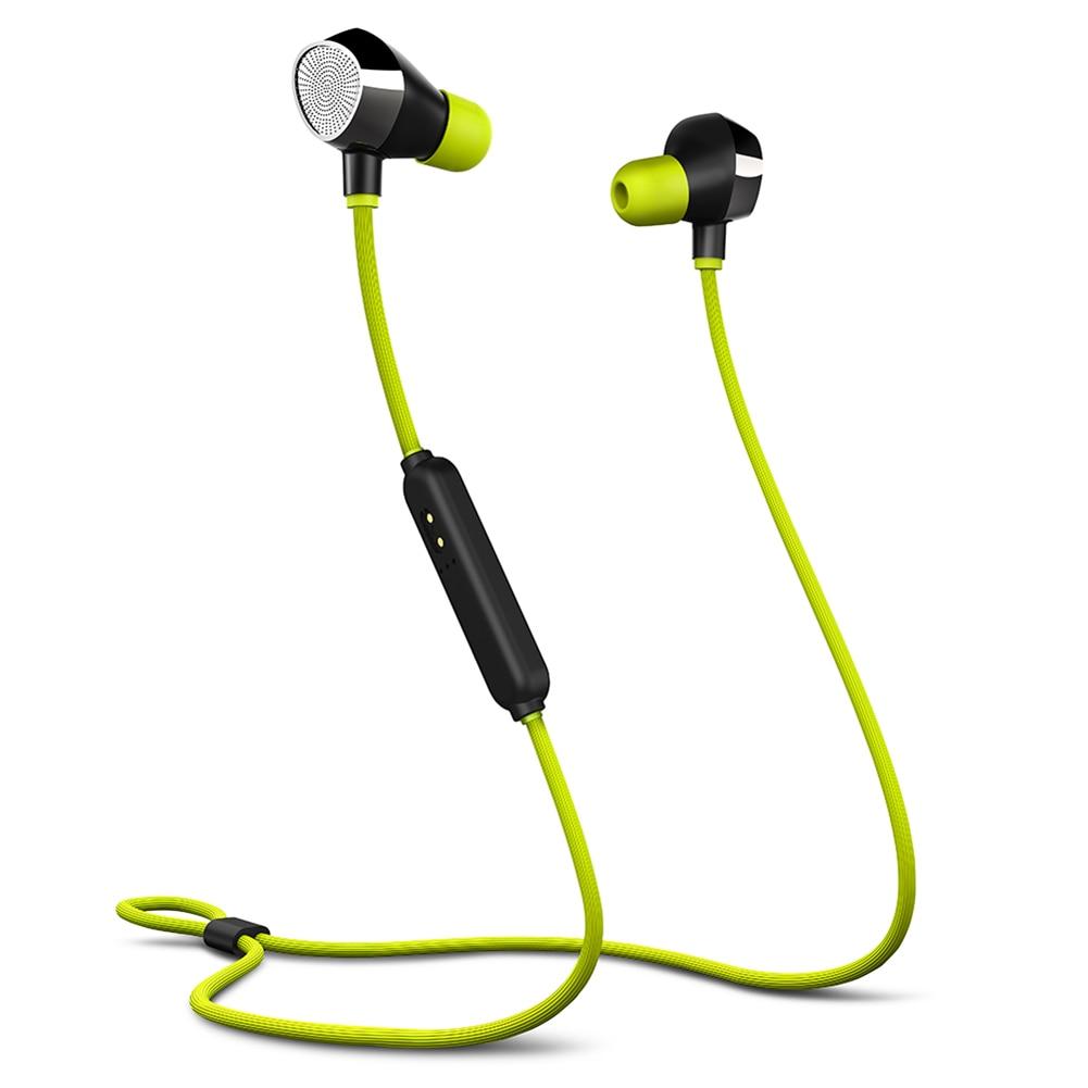 Wireless Bluetooth 4.1 Earphones Waterprof Magnetic Earpiece Stereo Headphone Sports Headset @JH