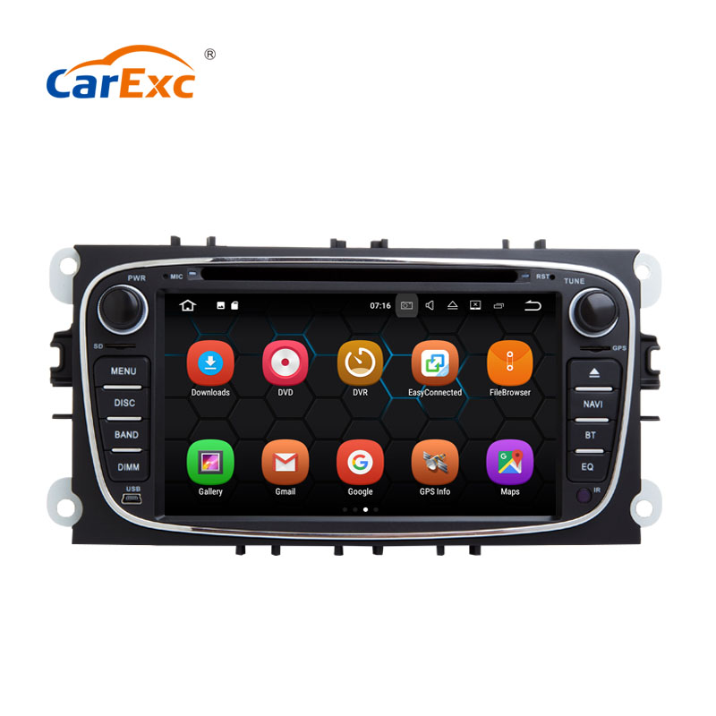 7 Inch Android 9.0 <font><b>Auto</b></font> <font><b>Radio</b></font> Player With GPS Navigation Multimedia System For <font><b>Ford</b></font> <font><b>focus</b></font>(2009-2011) Car DVD OBD Wifi Bluetooth image