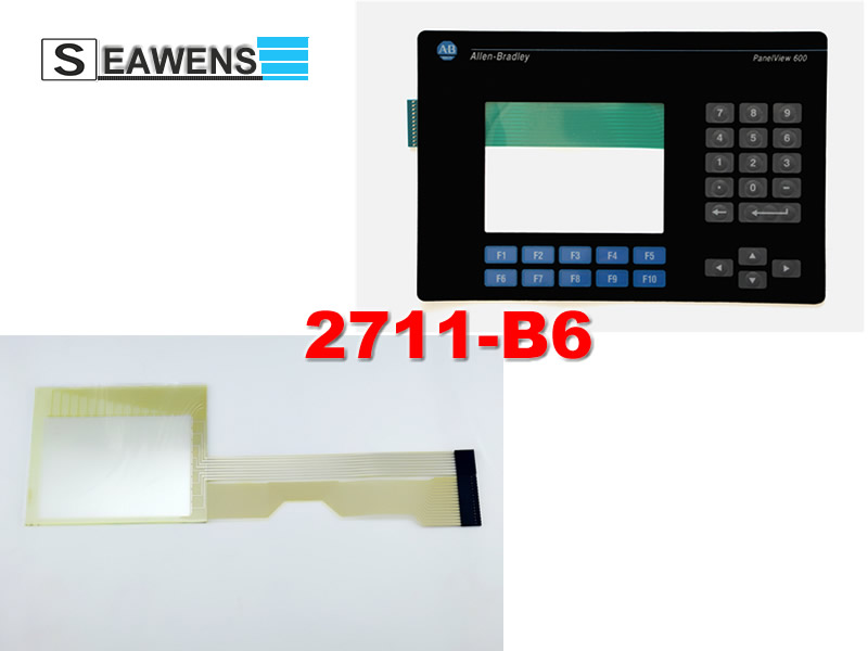 2711-B6C2 touch screen + membrane keypad for Allen-Bradley HMI 2711B6C2, FAST SHIPPING