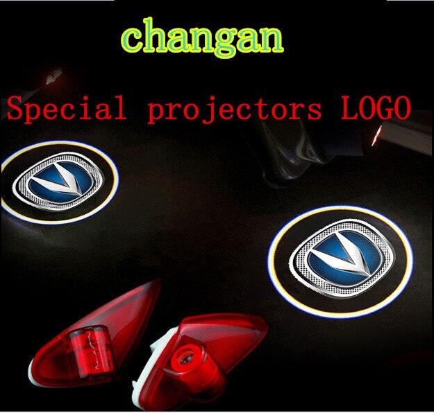 2pcs HD font b car b font door light Alsvin v5 EADO CS35 CS75 V5 chang