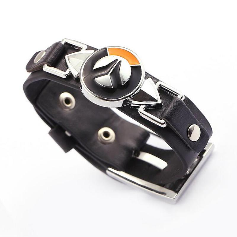 Overwatch Leather Bracelet
