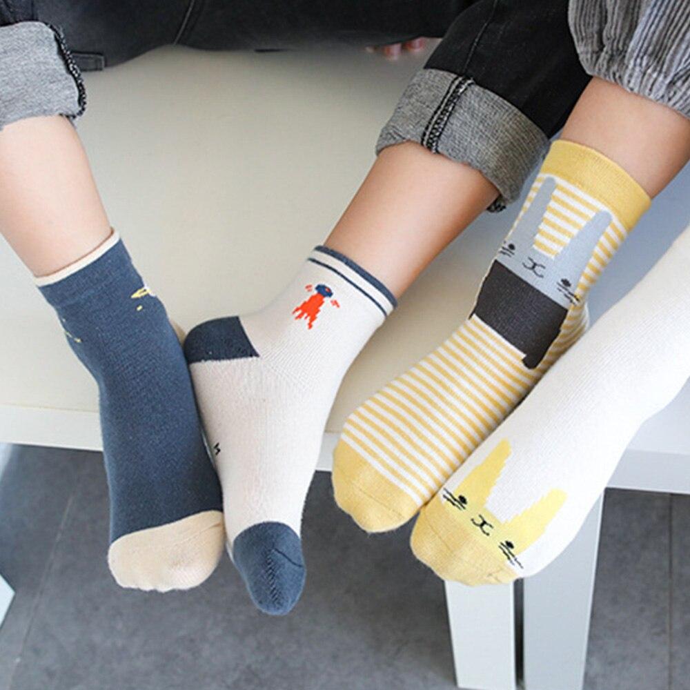 Mädchen Kleidung Mutter & Kinder Socken 5 Paar = 10 Teile/los Baby Kinder Mädchen Jungen Kinder Socken Baumwolle Nette Weiche Kinder Infant Unisex 4 Arten Stil Für 1-12 Jahr