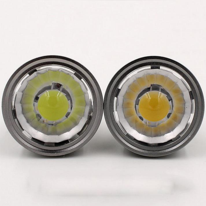 Dimmable Led Cob Spotlight E26 E27 Gu10 Gu5 3 Mr16 6w 9w: E27 E14 GU10 GU5.3 6W 9W 12W LED COB Spotlight Dimmable