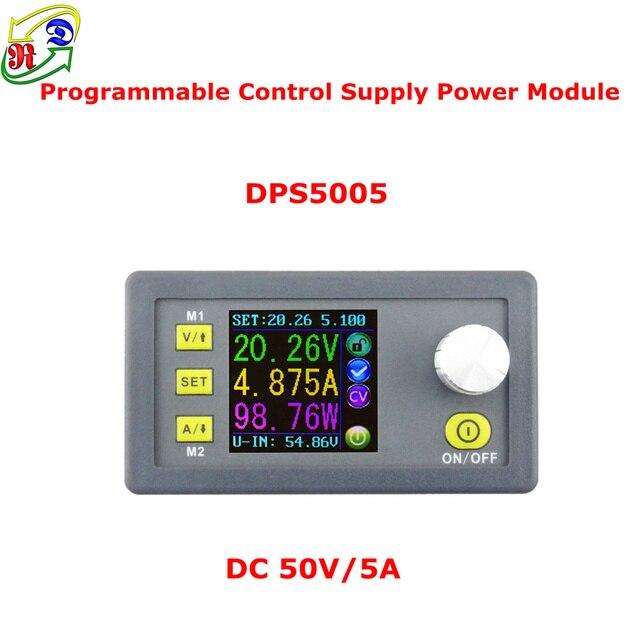 RD DPS5005 Costante Tensione di corrente Step-down Programmabile modulo di Alimentazione buck convertitore di Tensione LCD A colori voltmetro