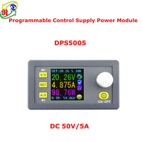 RD DPS5005 Constant Voltage Current Step Down Programmable Power Supply Module Buck Voltage Converter Color LCD