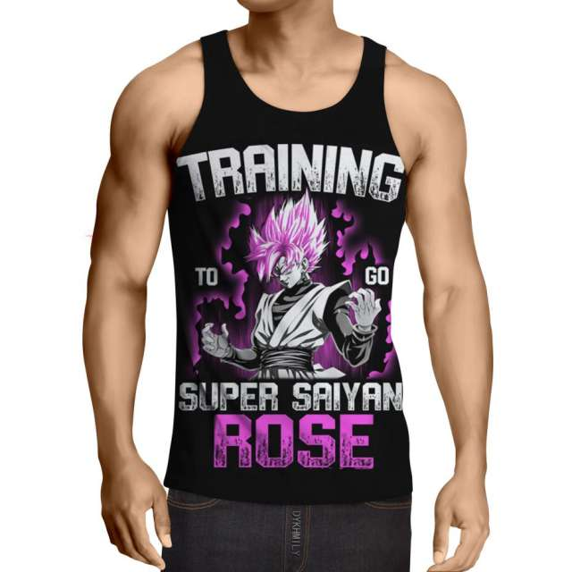 TRAINING TO GO SUPER SAIYAN ROSE