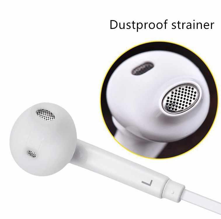 3.5 ミリメートルインイヤーイヤホン低音ヘッドセットステレオ Iphone 用マイクと Mp3 Mp4 サムスン Xiaomi Huawei 社の Bluetooth イヤホン