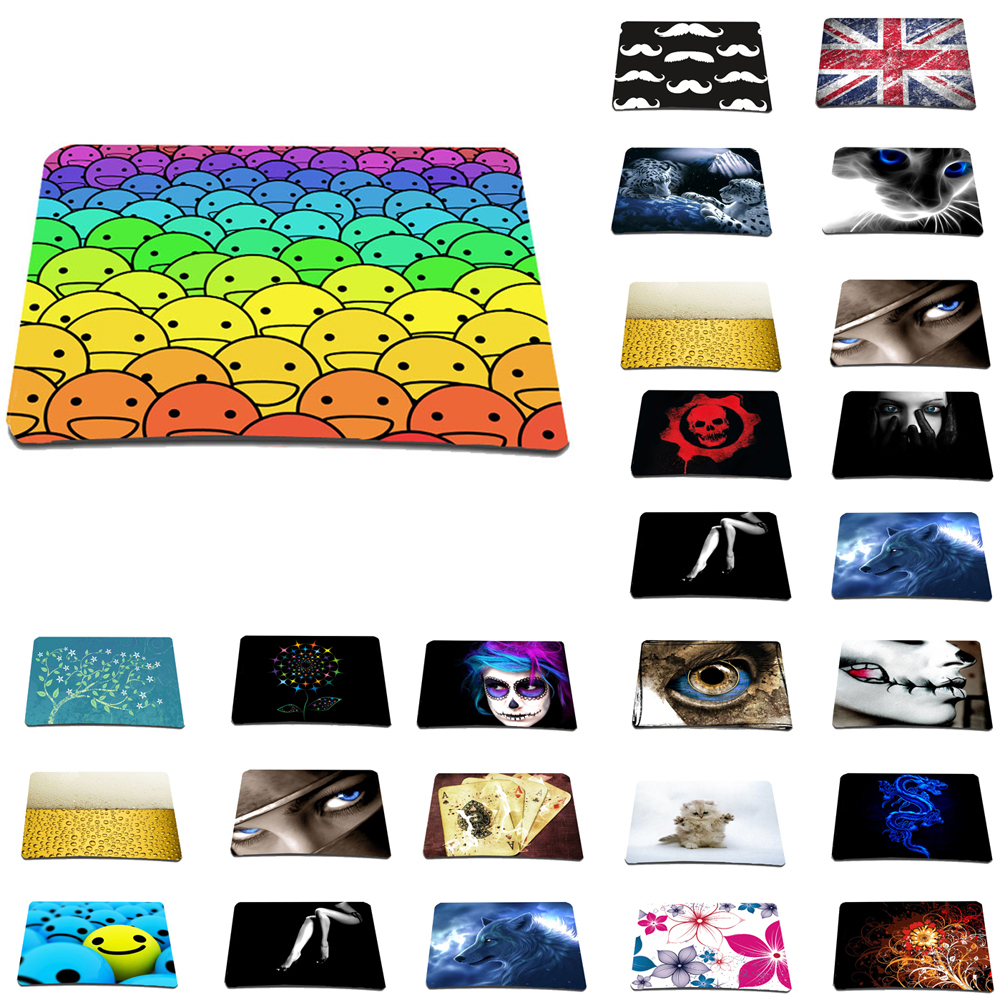Viviration For lol overwatch cogo new gaming laser mouse mice ultra slim anti-slip mat soft rubber mousepad wholesale 2018