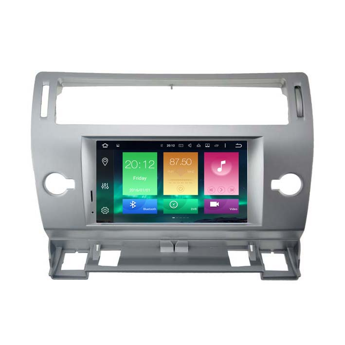 WA5691S Android 6.0 Car dvd Radio GPS Media autoradio Player For CITROEN <font><b>C4</b></font> 2Gb+32Gb PX5 8-Core