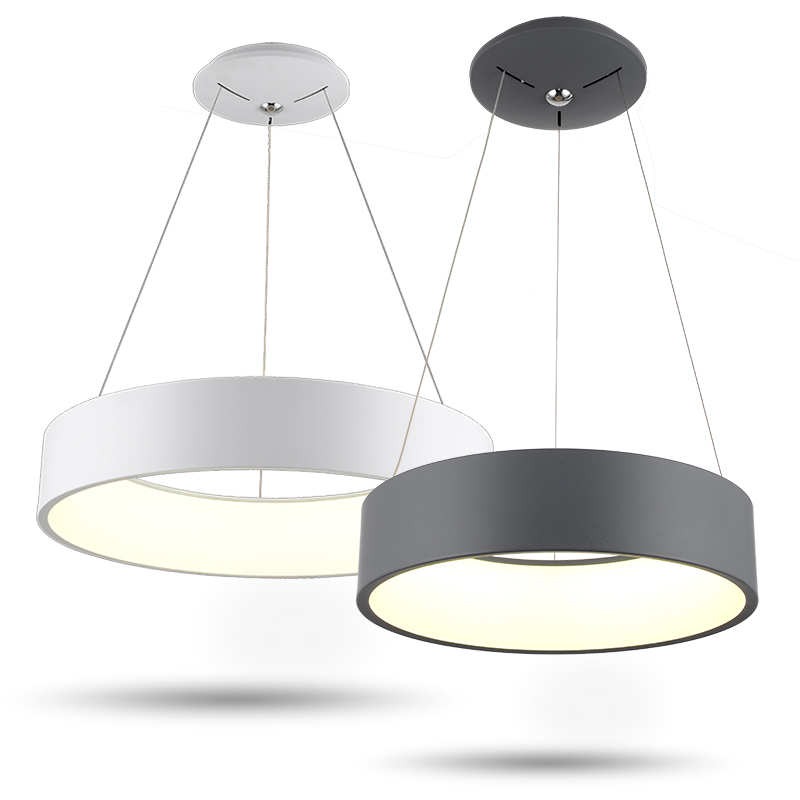 Minimalism agățat Modern Led Pandantiv Lumini pentru Sufragerie Bar - Iluminatul interior - Fotografie 2