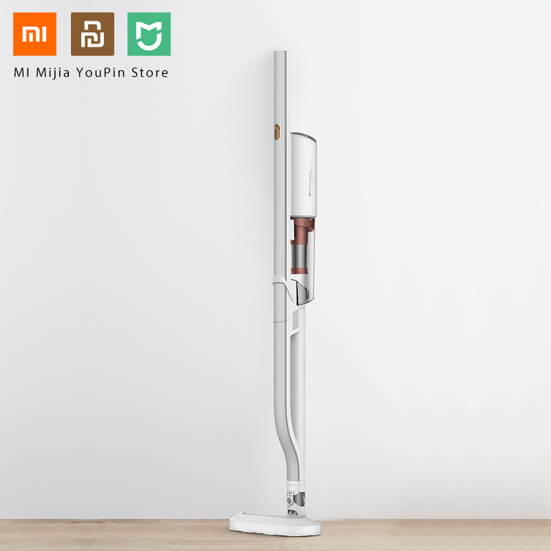 Xiaomi youpin Deerma palo de transporte trasero aspirador limpiador de mano colector de polvo de mano-in control remoto inteligente from Productos electrónicos    1