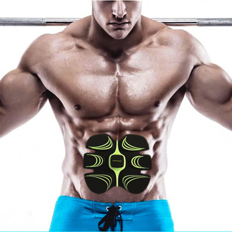 NEW CR8 Abdominal Exerciser Device Household Abdominal Muscles Intensive Training Electric Weight Loss Slimming Massager