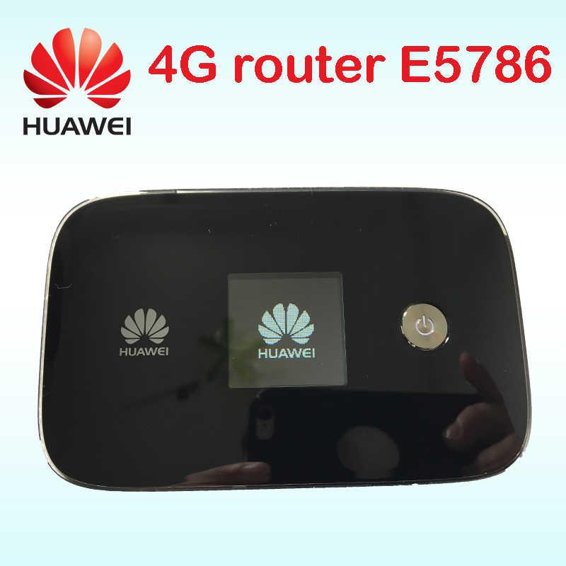 300M 4G موزع إنترنت واي فاي هواوي e5786 LTE واي فاي الجيل الثالث 3g 4g راوتر لاسلكي 4g lte راوتر Cat6 دونغل 3g mifi جيب pk e5776 e5372 e589