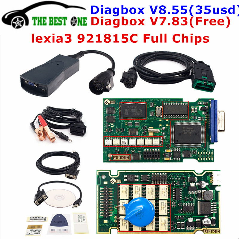 LEXIA 3 FULL CHIP PEUGEOT CITROEN DIAGNOSTIC PP2000 DIAGBOX V48 CAN BUS 7.83 UK