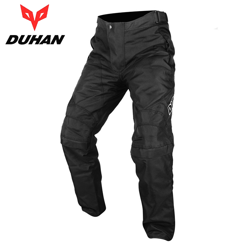 DUHAN Motorcycle Pants Oxford Cloth Riding Protective Windproof Sports Pants Clothing Motorcycle Enduro Racing Pantalon Trousers