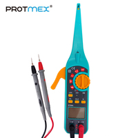 Protmex Car circuit detecting instrument DT86A Multifunction LCD Display Automotive Vehicle Circuit Tester (Blue)