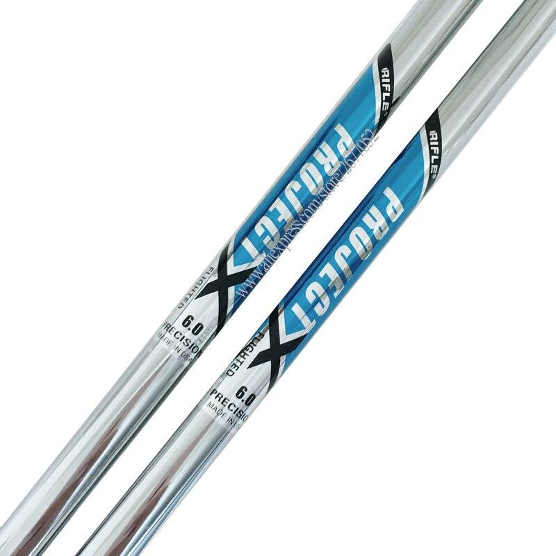 Cooyute New Mens Golf Irons Shaft Project X Clubs Golf Shaft 13pcs/lot 5.0/5.5/6.0/6.5 Flex Steel Golf Shaft  Free Shipping