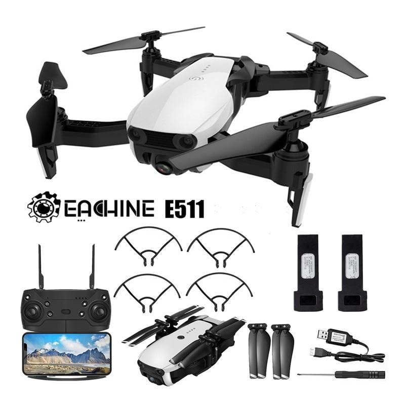 Eachine Rc-Drone Quadcopter Hd-Camera E511 Flight-Time WIFI Foldable FPV Headless 1080p/720p