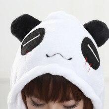 Panda Onesie Women Men Black White Pajama Animal Costume Adult Overall Party Jumpsuit Flannel Soft Winter Sleep Wear